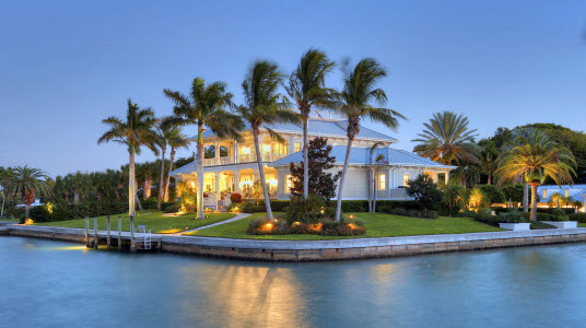waterfront longboat key real estate